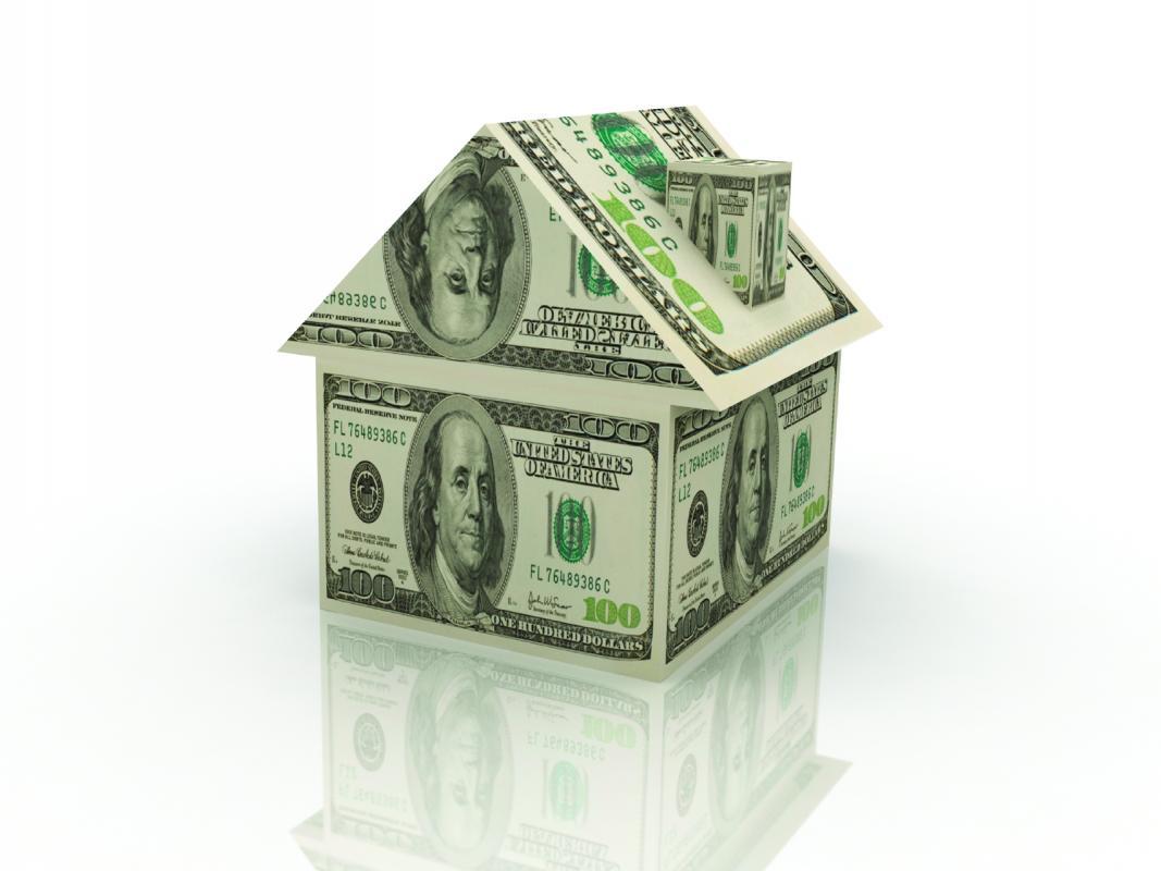 Как сделать дом из денег на свадьбу