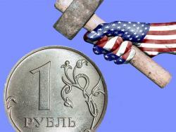 Рубль рискует стать самой волатильной валютой в мире