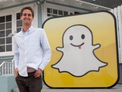 Эван Шпигель, Snapchat